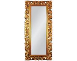 AL HARAMAIN Złote Lustro Dekoracyjne w Stylowej Ramie Glamour 80x190cm