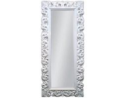Aziza Białe Lustro Dekoracyjne w Stylowej Ramie Glamour 80x190cm