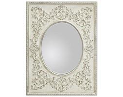SECRET Fantasies Lustro Białe Przecierane Dekoracyjne W Stylowej Ramie Styl Glamour 90x120cm
