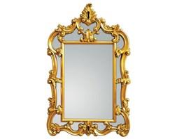 Serge Lutens Złote Lustro Dekoracyjne w Stylowej Ramie VINTAGE 90x145cm
