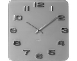 Zegar ścienny Vintage szary