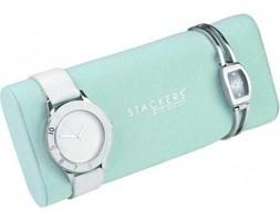Poduszka na zegarki Stackers miętowa