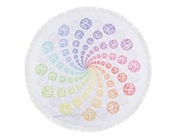 Kolorowy ręcznik plażowy ze 100% bawełny Twirl, ⌀ 150 cm