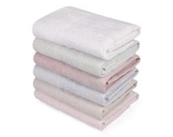 Zestaw sześciu ręczników w pastelowych kolorach Pastela, 90x50 cm