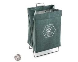 Zielony kosz na pranie Versa Company