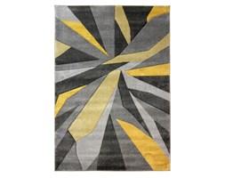 Żółto-szary dywan Flair Rugs Shatter Ochre, 80x150 cm