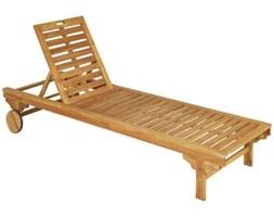 Leżak ogrodowy drewniany PORTO NATERIAL