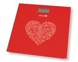 Elektroniczna waga łazienkowa BS-973 - czerwone serce
