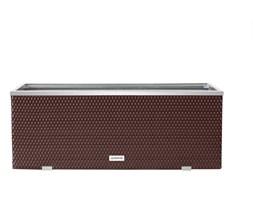 Donica Technorattanowa 1300x400x450mm wyk. aluminium