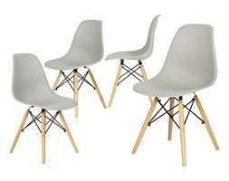 Nowoczesne szare krzesło MEDIOLAN - 4 szt. ( uniw)