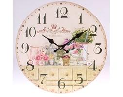 Zegar ścienny Przedstawiajacy Ogród