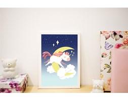 Plakat dla dzieci - Jednorożec 3