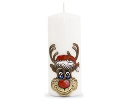 RUDOLF świeca walec duży, wys. 18 cm