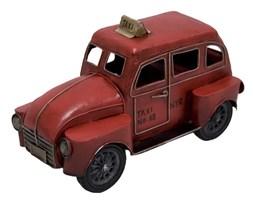 TAXI replika auta czerwona, 25x16x13 cm