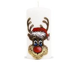 RUDOLF świeca walec średni, wys. 14 cm