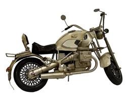 Replika motoru kremowa, 37x20x14 cm