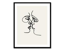 PICASSO - SZKIC obraz w czarnej ramie, 43x53 cm