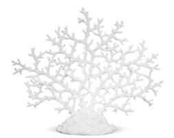 KORALOWIEC biała dekoracja, 35x43x10,5 cm