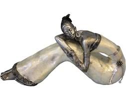 AFRYKANKA W PÓŁŚNIE figurka, ozdoba, 16x31x9 cm