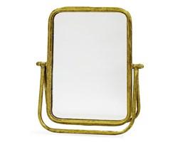 KOHLI lustro złote toaletowe, 37x33x10 cm