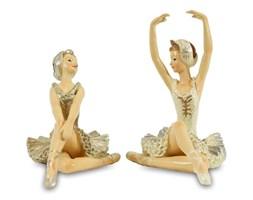 BALETNICE figurki, 8x9x6cm oraz 10x10x6 cm