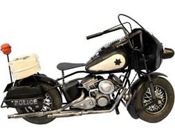 POLICE replika motoru czarna, 34x21x13 cm