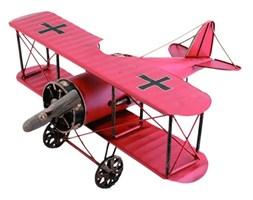 Replika samolotu czerwona, 30x15x25 cm