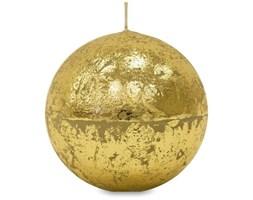 GLAMOUR świeca kula złota, wys. 12 cm