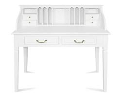 WHITE CLASSICS sekretarzyk biały vintage retro, biurko, 109x55x108 cm