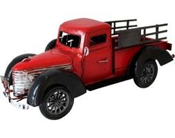 PICKUP replika auta czerwono-czarna, 33x14x13 cm
