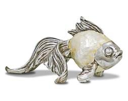 RYBA dekoracja, figurka z masą perłową, 12x20x12 cm
