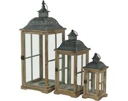 CANDELA komplet trzech lampionów, wys. 73/50/34 cm