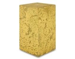 GLAMOUR świeca kostka złota, wys. 14 cm