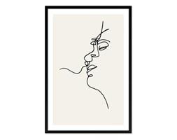 PICASSO - SZKIC obraz w czarnej ramie, 63x93 cm