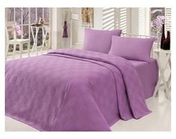 Fioletowa narzuta na łóżko Barbara, 160 x 230 cm