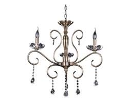 Żyrandol LAMPA wisząca MAESTRA 5311311 Spotlight klasyczna OPRAWA świecznikowa ZWIS z kryształkami MARIA TERESA patyna basilano