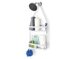 Półka pod prysznic podwójna 9,5x31,8x64,8cm Umbra Flex Shower Caddy biała kod: 023460-660