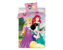 Pościel dziecięca 160x200 Princess Księżniczki Królewna Śnieżka Mała Syrenka Roszpunka Faro