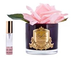 Cote Noire - Perfumowany kwiat Francuskiej Roży - Pink Blush - Dyfuzor ( czarne szkło)