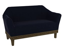 Sofa DUCHESS WENGE Blue