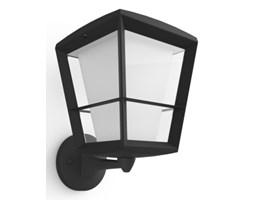 LAMPA ZEWNĘTRZNA PHILIPS HUE ECONIC WALL LATERN UP KINKIET OGRODOWY 15W STYL NOWOCZESNY METAL SZKŁO CZARNY 1743930P7