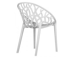 Krzesło - Siesta - Crystal - białe