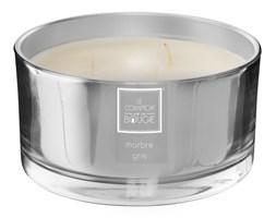 Zapachowa świeca Alix w srebrnym błyszczącym szkle o średnicy 13,5 cm