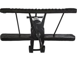 Figurka ozdobna samolot na podstawce, stylowe i nowoczesne rzeźby do salonu
