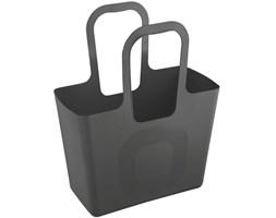 Wielofunkcyjna torba na zakupy, plażę TASCHE XL - kolor ciemny szary, KOZIOL