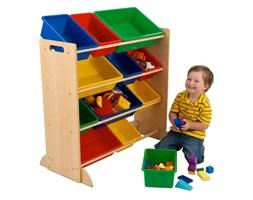 Drewniany regał z pojemnikami na zabawki KidKraft