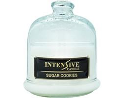 INTENSIVE COLLECTION 100% Soy Wax Premium Candle B1 Jar świeca zapachowa w szkle z kloszem 100% wosk sojowy - Sugar Cookies