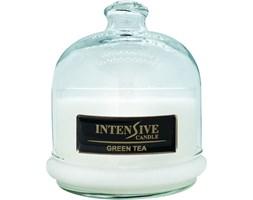 INTENSIVE COLLECTION 100% Soy Wax Premium Candle B2 Jar świeca zapachowa w szkle z kloszem 100% wosk sojowy - Green Tea