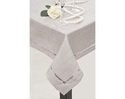 DecoKing - Obrus Emily - Srebrny - 30x30 cm