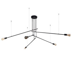 Lampa wisząca/ sufitowa do dużego salonu PILE V